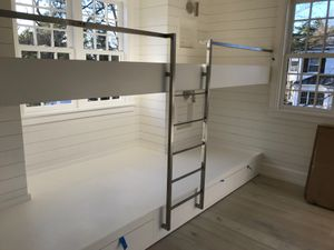 Stainless bunk ladders