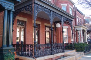 Cast Iron front porch