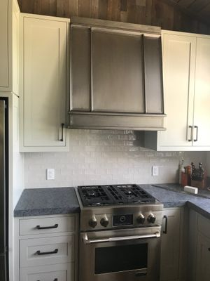 Satin Stainless hood